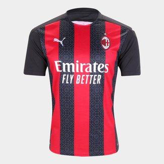 Camisa Milan Home 20/21 s/n° Torcedor Puma Masculina