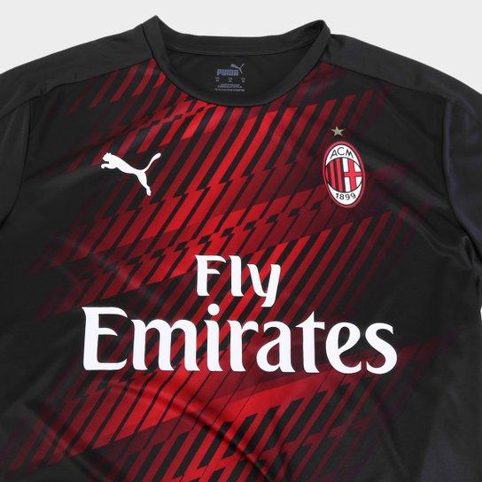 Camisa Milan Pre Jogo 20 21 Puma Masculina Allianz Parque Shop
