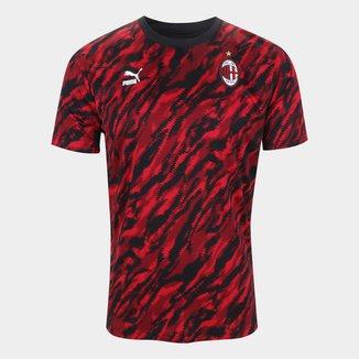 Camisa Milan Pré-Jogo 21/22 Puma Masculina