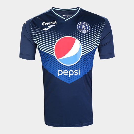 Camisa Motagua Home 19/20 s/nº Torcedor Joma Masculina - Azul