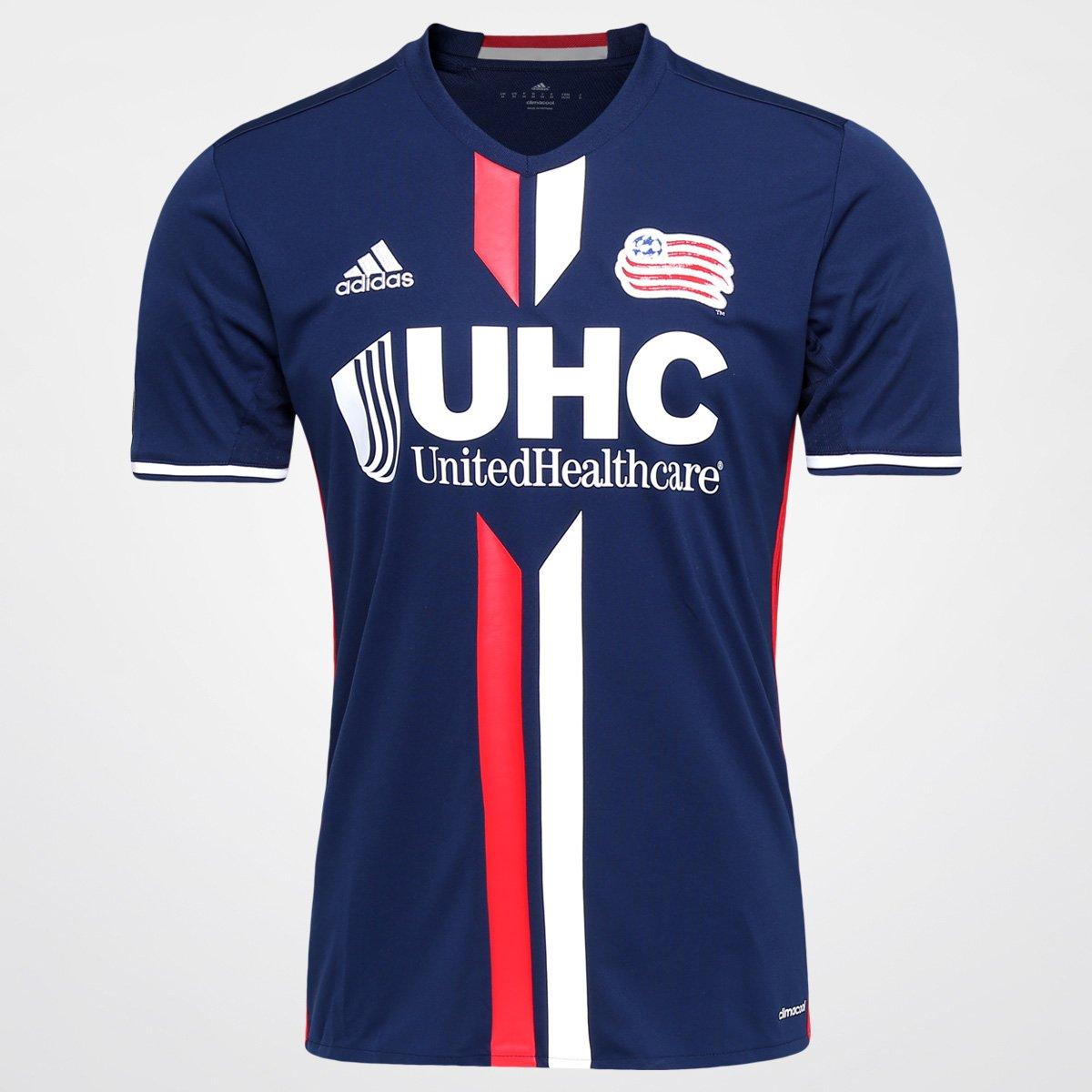 05b755ffd Camisa New England Revolution MLS Home 2016 s nº Torcedor Adidas Masculina  - Compre Agora