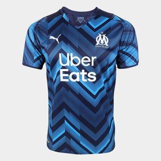 Camisa Olympique de Marseille Away 21/22 s/n° Torcedor Puma Masculina