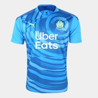 Camisa Olympique de Marseille Third 20/21 s/n° Torcedor Puma Masculina