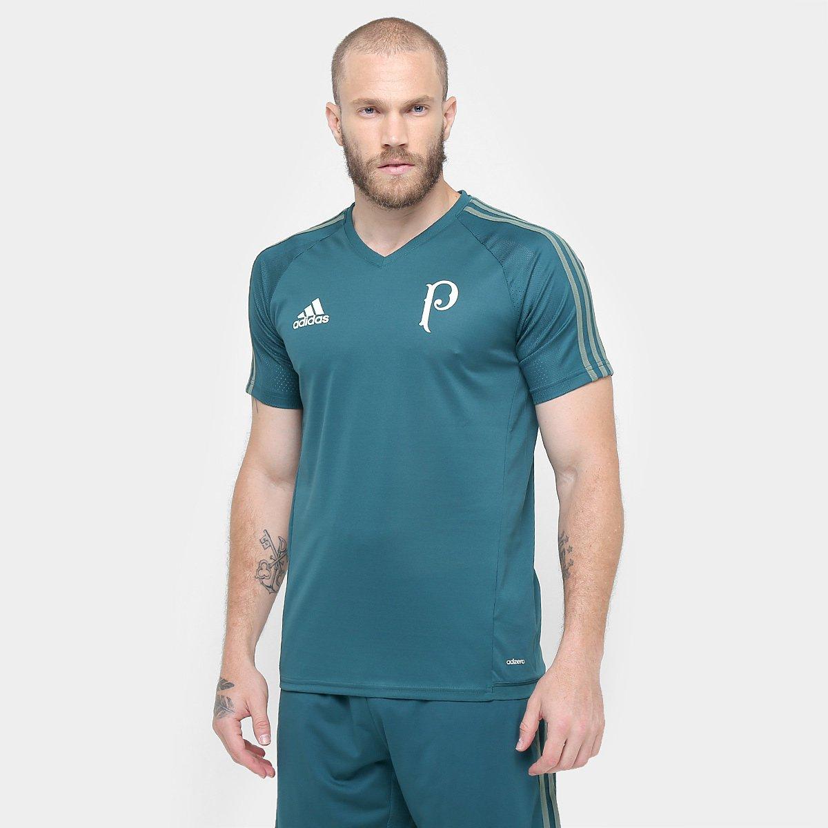 57bc80ac45bc0 Camisa Palmeiras 17/18 Treino Adidas Masculina | Allianz Parque Shop