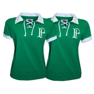 Camisa Palmeiras 1914/15 Liga Retrô Feminina  Verde g