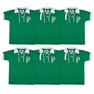 Camisa Palmeiras 1914/15 Liga Retrô Infantil  Verde 8