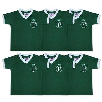 Camisa Palmeiras 1951 Liga Retrô Infantil  Verde 10
