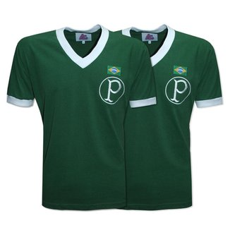 Camisa Palmeiras 1951 Liga Retrô  Verde GG