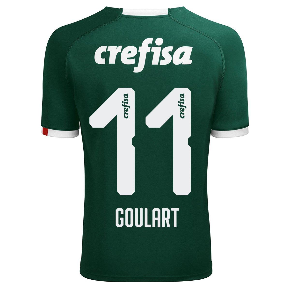 d96728004 Camisa Palmeiras I 19 20 Goulart nº 11 - Torcedor Puma Masculina - Verde -  Compre Agora