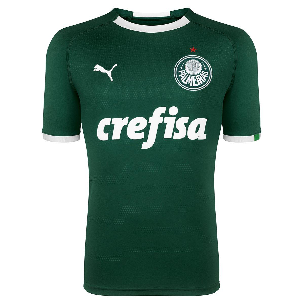cheque temporal combate  Camisa Palmeiras I 19/20 nº 2 Marcos Rocha - Torcedor Puma Masculina |  Allianz Parque Shop