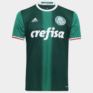 Camisa Palmeiras I 2016 s/nº Torcedor Adidas Masculina