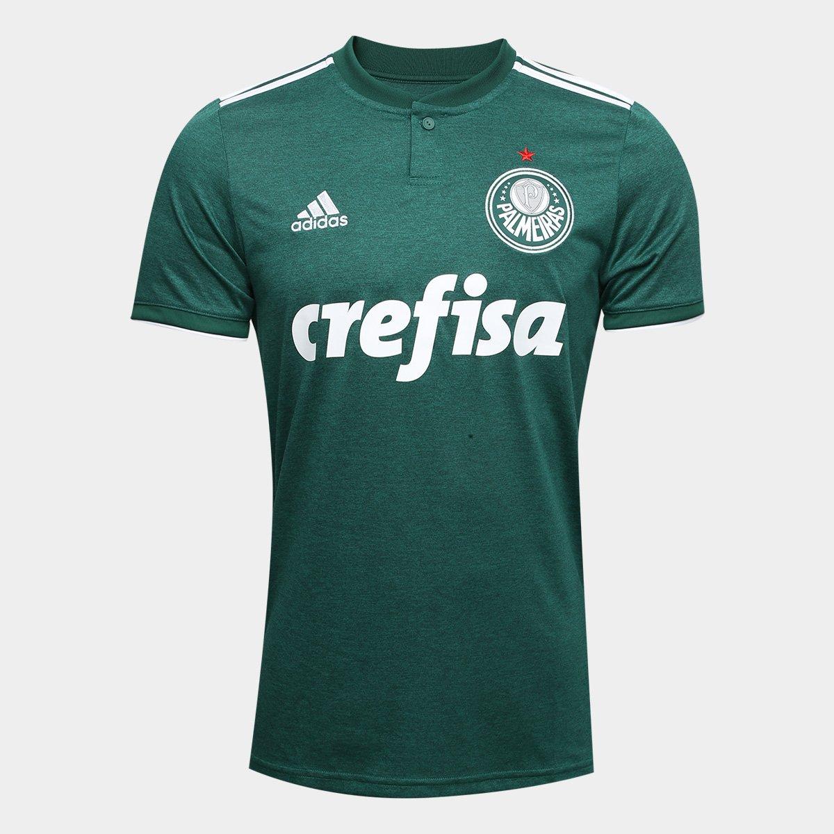 dbfe122ae8be4 Camisa Palmeiras I 2018 s n° Torcedor Adidas Masculina - Compre Agora