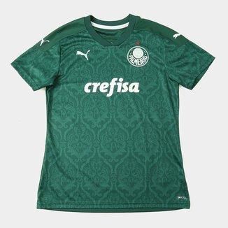 Camisa Palmeiras I 20/21 s/n° Torcedor Puma Feminina