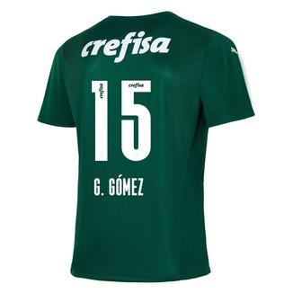 Camisa Palmeiras I 21/22  G. Gómez nº 15 Torcedor Puma Masculina