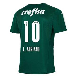 Camisa Palmeiras I 21/22 L. Adriano N° 10 Torcedor Puma Masculina