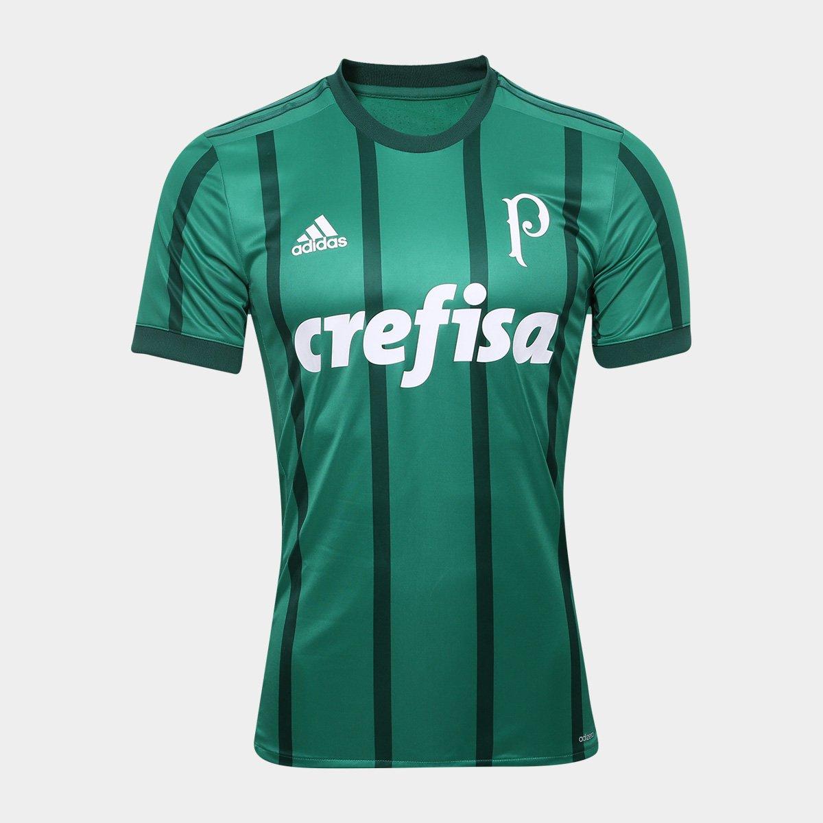 b2285d0a6e Camisa Palmeiras I s/n° 17/18 - Jogador Adidas Masculina | Allianz Parque  Shop