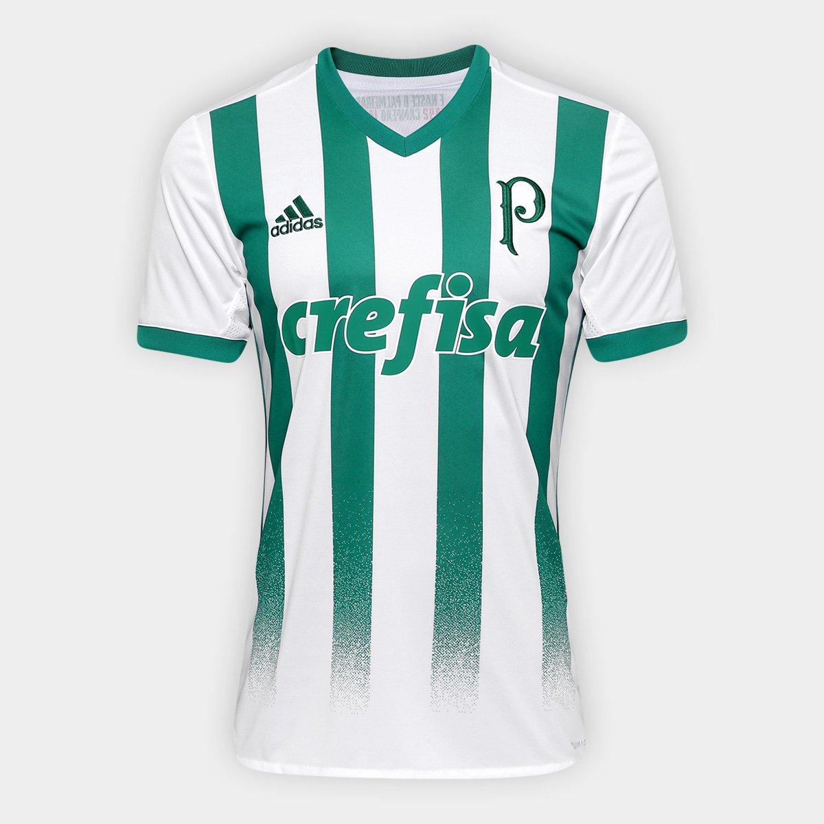 63a3267e1 Camisa Palmeiras II 17/18 s/nº Torcedor Adidas Masculina | Allianz Parque  Shop
