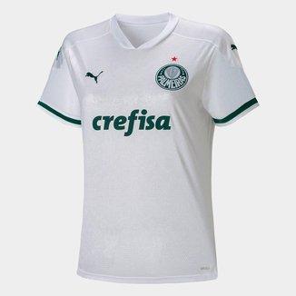 Camisa Palmeiras II 20/21 s/n° Torcedor Puma Feminina