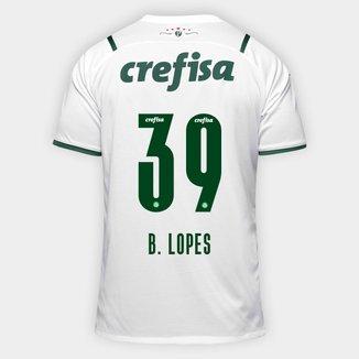 Camisa Palmeiras II 21/22 B. Lopes N° 39 Torcedor Puma Masculina