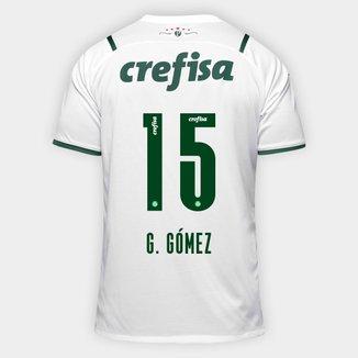 Camisa Palmeiras II 21/22  G. Gómez nº 15 Torcedor Puma Masculina