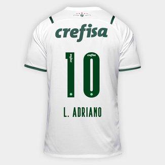 Camisa Palmeiras II 21/22 L. Adriano N° 10 Torcedor Puma Masculina