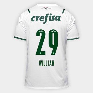 Camisa Palmeiras II 21/22 Willian Nº 29 Torcedor Puma Masculina