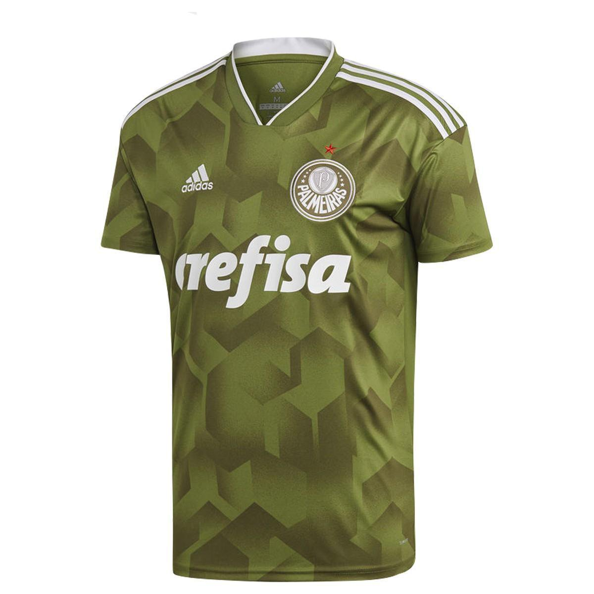 01eddb0f21087 Camisa Palmeiras III 2018 s n° - Torcedor Adidas Masculina - Verde - Compre  Agora