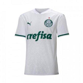 Camisa Palmeiras Infantil Puma 2 20/21 Masculina