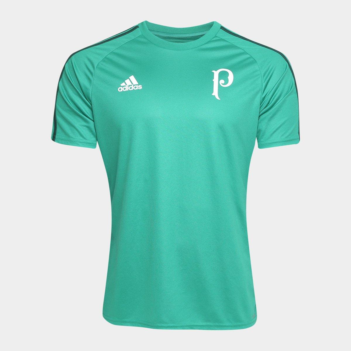 f37f2a9e734 Camisa Palmeiras Réplica 17/18 s/nº Adidas Masculina | Allianz ...