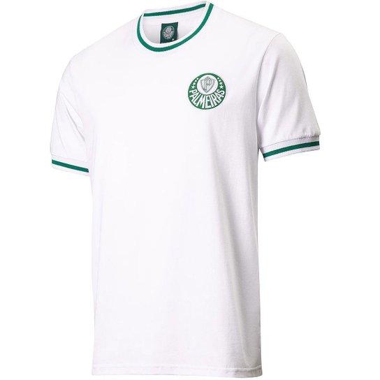 Camisa Palmeiras Vintage Eterna Academia Masculina - Branco