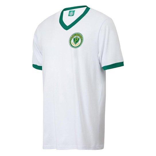 Camisa Palmeiras Vintage Palestra de S. Paulo Masculina - Branco