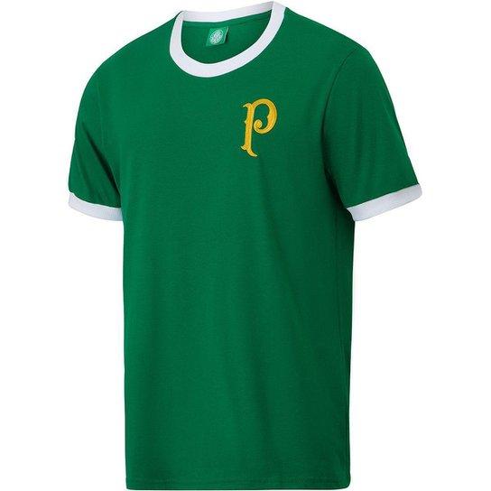 Camisa Palmeiras Vintage Torcedor Masculina - Verde