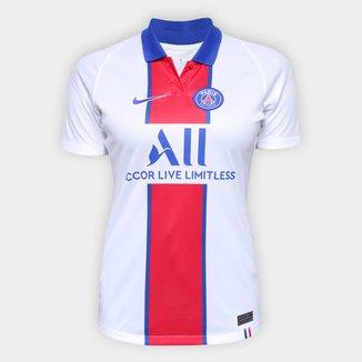 Camisa Paris Saint-Germain Away 20/21 sn° Torcedor Nike Feminina
