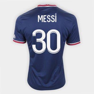 Camisa Paris Saint-Germain Home 21/22 Messi nº 30 Nike Masculina