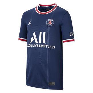 Camisa Paris Saint-Germain Juvenil Home 21/22 s/n° Torcedor Nike