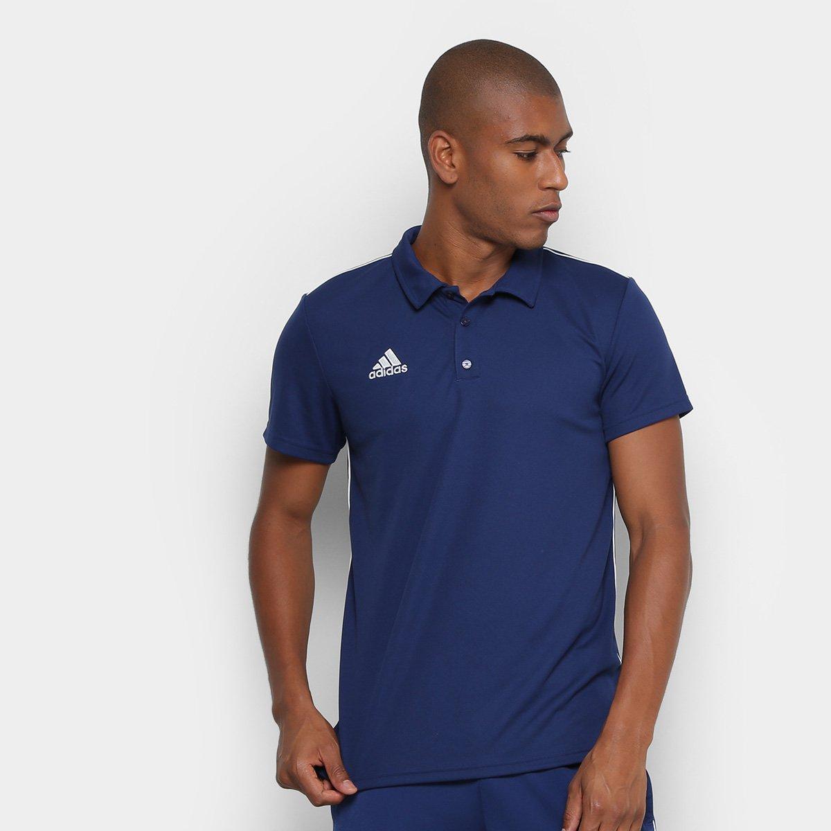 7e8c637761 Camisa Polo Adidas Core 18 Masculina - Compre Agora