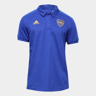 Camisa Polo Boca Juniors Adidas Viagem 21/22 Masculina