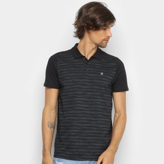 Camisa Polo Hurley Television Masculina