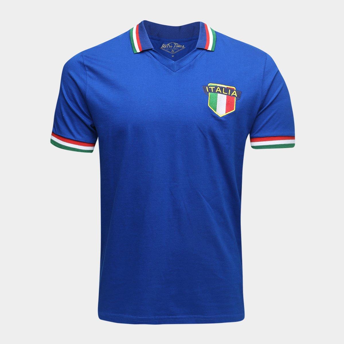 Camisa Polo Itália 1982 Retrô Times Masculina - Compre Agora ... c295081c10eb0