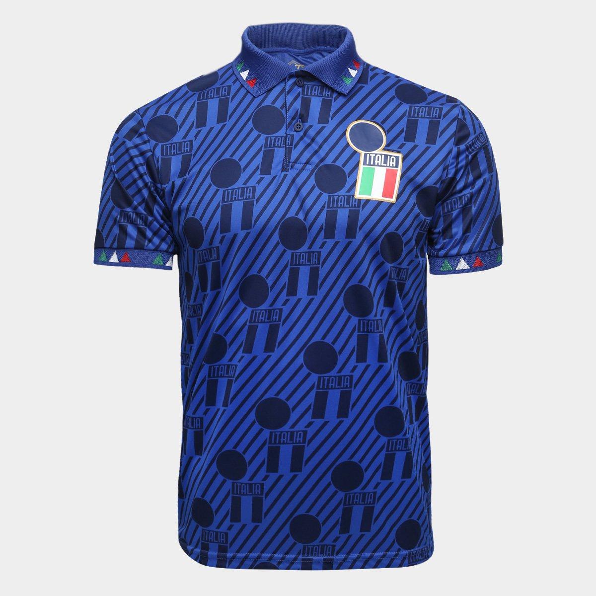 209c8c976c Camisa Polo Itália Retrô Times 1994 Masculina - Compre Agora ...