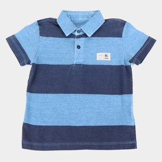 Camisa Polo Juvenil Hang Loose Listrada Masculina
