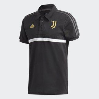 Camisa Polo Juventus Viagem 20/21 Adidas Masculina