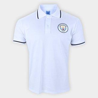 Camisa Polo Manchester City Piquet Masculina