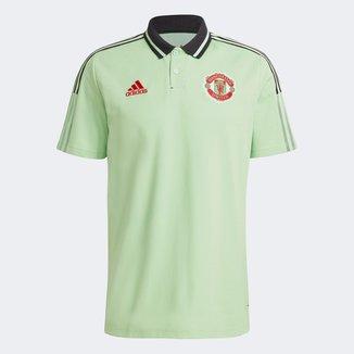 Camisa Polo Manchester United Viagem 21/22 Adidas Masculina