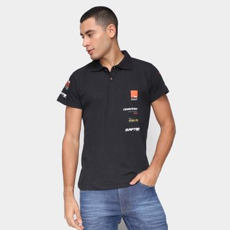 Camisa Polo Onbongo Surftrip Masculina
