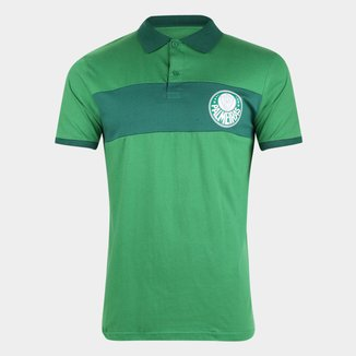 Camisa Polo Palmeiras Horizontal Masculina