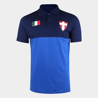 Camisa Polo Palmeiras Palestra Itália Block Masculina