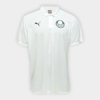 Camisa Polo Palmeiras Viagem 20/21 Puma Masculina