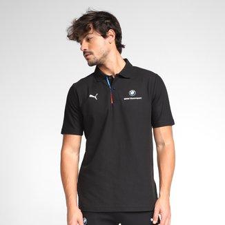 Camisa Polo Puma BMW MMS Lines Masculina
