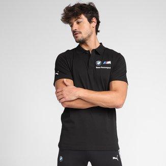 Camisa Polo Puma BMW MMS Masculina